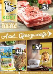 KORT Marketi - KATALOG  Akcija do 09.12.2020