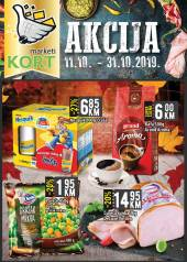 KORT Marketi - KATALOG - Akcija do 31.10.2019.god.