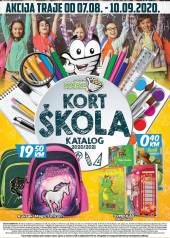 KORT Marketi ŠKOLA - KATALOG - Akcija do 10.09.2020.god.