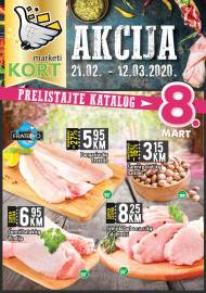 KORT Marketi - KATALOG - Akcija do 12.03.2020.god.