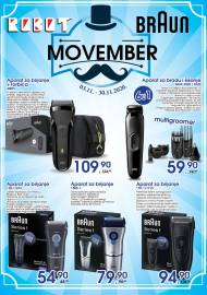 Robot General Trading Co doo - MOVEMBER - AKCIJA SUPER SNIŽENJE do 30.11.2020. Godine