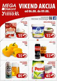 YIMOR i MEGA DISKONT - VIKEND AKCIJA do 09.08.2020