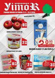 YIMOR i MEGA DISKONT - VIKEND AKCIJA do 24.11.2019