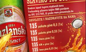 135. godišnjicu Pivare Tuzla obilježit će nove investicije u proizvodnju i nagradna igra za potrošače