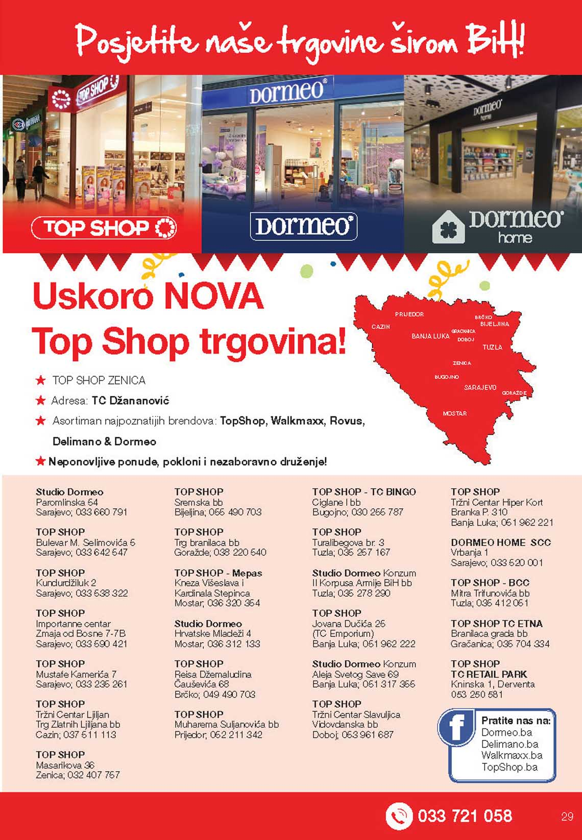 Top shop dormeo delimano