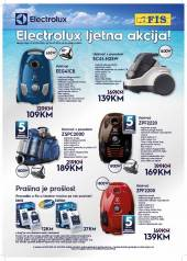 Electrolux i Fis  TOP AKCIJA do 06.09.2020